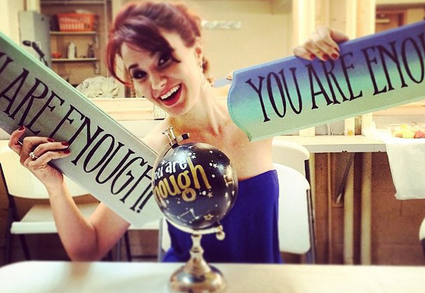 "Sierra Boggess ""You Are Enough"""