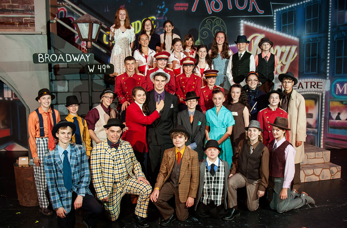 Guys and Dolls Cast Photo