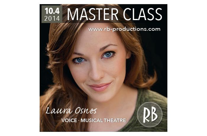 Laura Osnes Masterclass