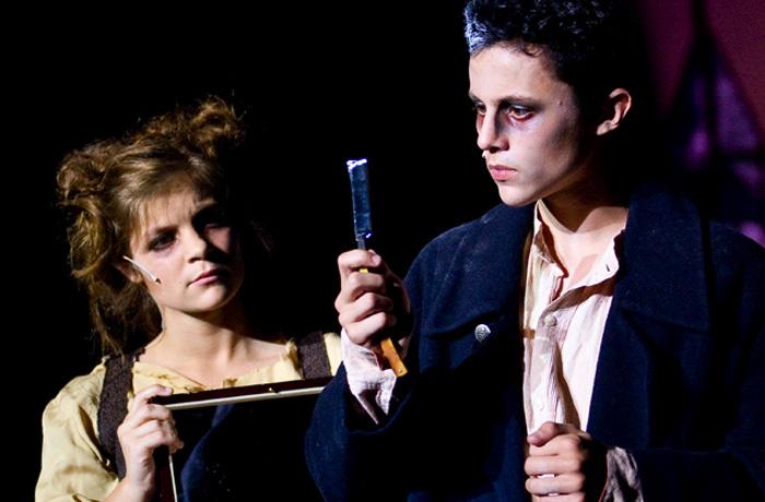 Mrs Lovett and Sweeney Todd