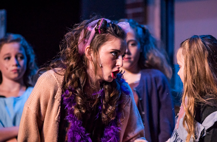 Miss Hannigan and Orphans
