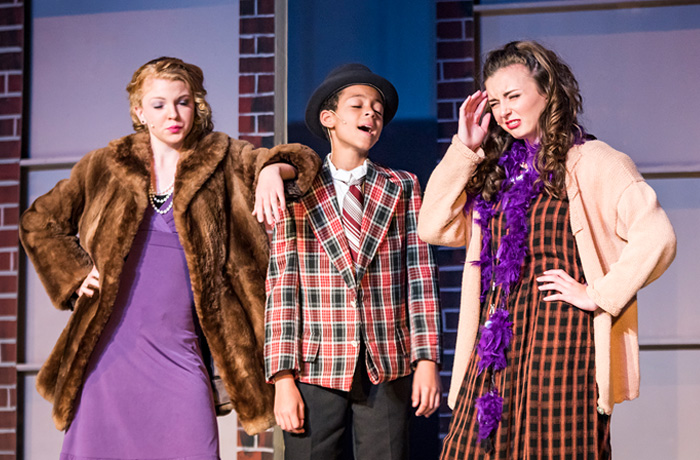 Lily, Rooster and Miss Hannigan