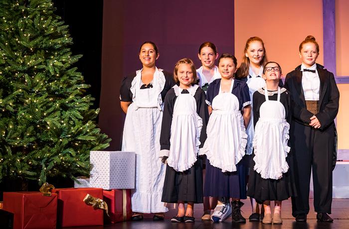 Warbucks Christmas Staff